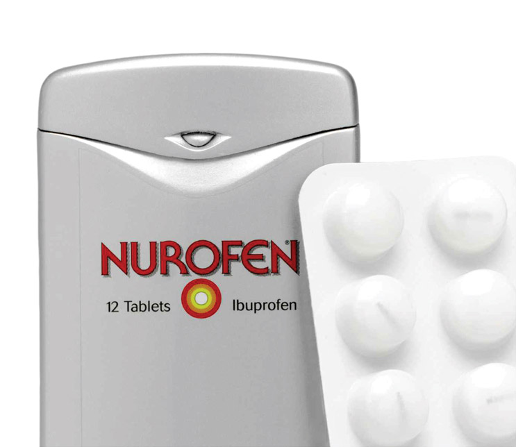 Nurofen - protective packaging
